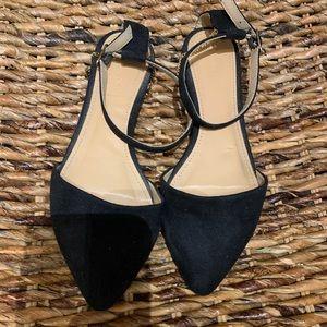 Beautiful Black Suede Sergio Bari Sandals